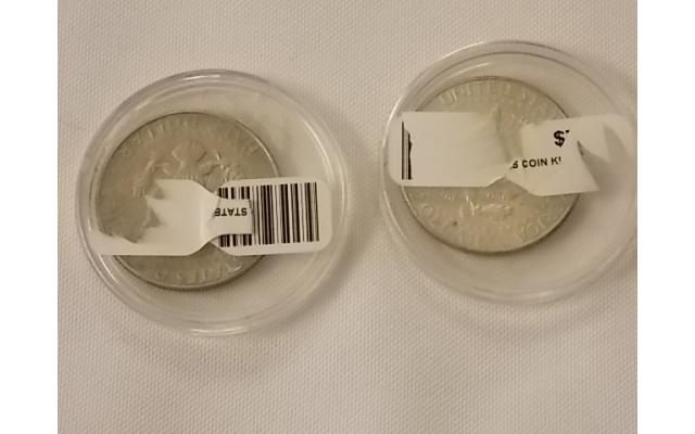 65 and 68 Kennedy Half Dollars Lot E108 - 2/3