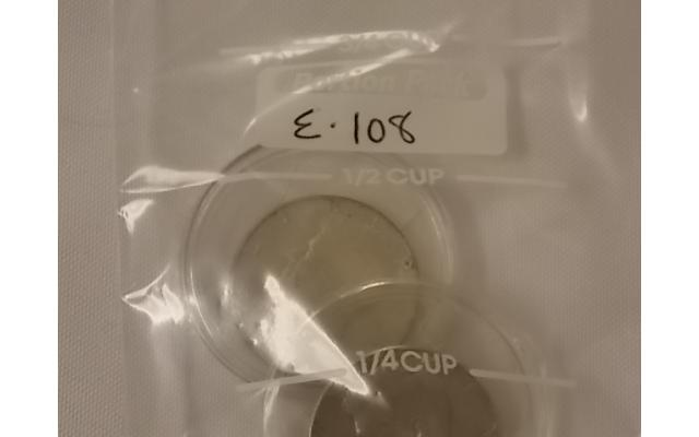 65 and 68 Kennedy Half Dollars Lot E108 - 3/3