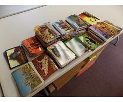Lot #5 Unused Postcard Lot Over 1000 (different styles & conditions more styles in piles)