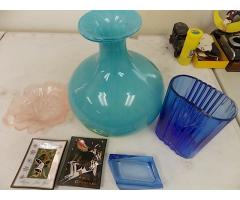 Lot #28 Vase & Glassware Lot
