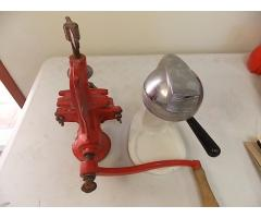 Lot #41 Vintage Meat Grinder & Juicer