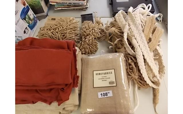 Large Drapery Lot (some new with tags) - 1/10