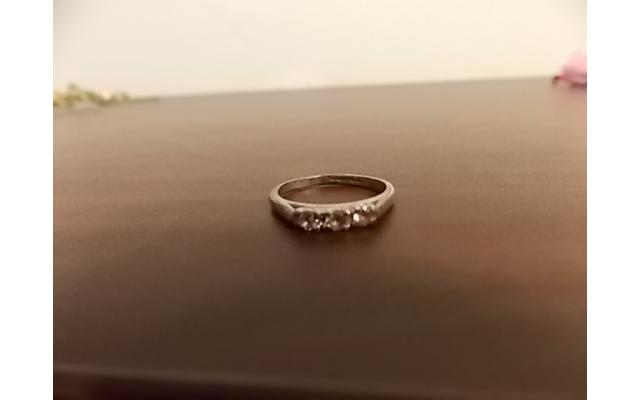 Sterling Silver Ring (stamped) - 1/6