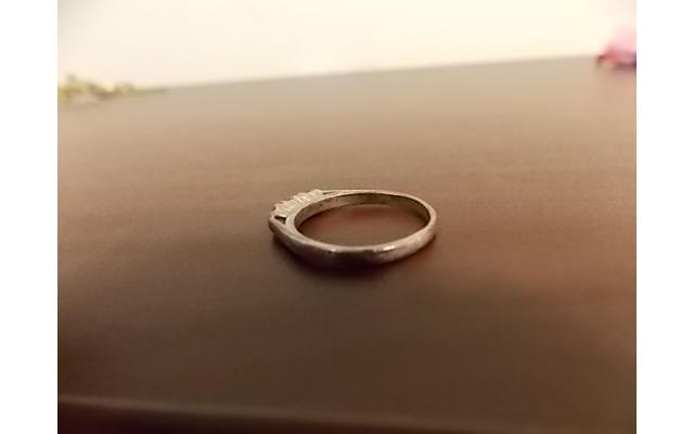 Sterling Silver Ring (stamped) - 2/6