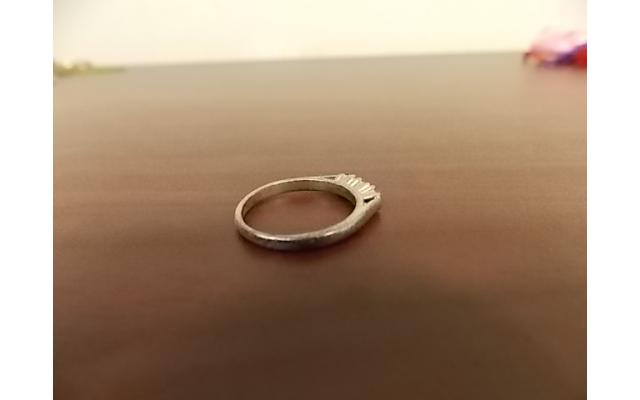 Sterling Silver Ring (stamped) - 3/6