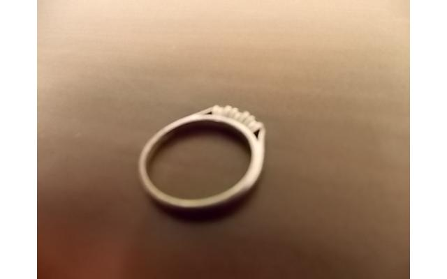 Sterling Silver Ring (stamped) - 4/6