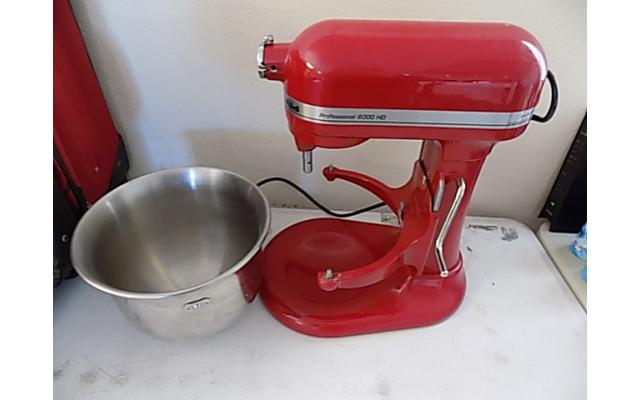 Kitchen aid Mixer Professional 6000 HD - 1/8