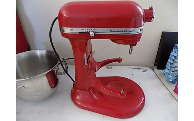 Kitchen aid Mixer Professional 6000 HD - 6/8
