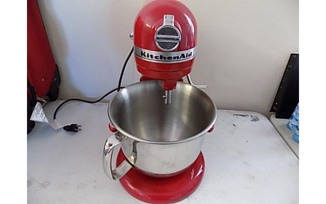 Kitchen aid Mixer Professional 6000 HD - 8/8