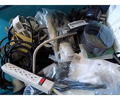 2 totes of cables and power cords - Image 4/5