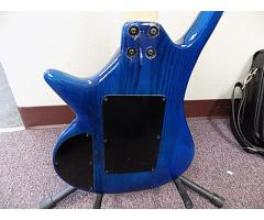 Lot# 107 Daniele custom made Blue guitar - Image 4/6