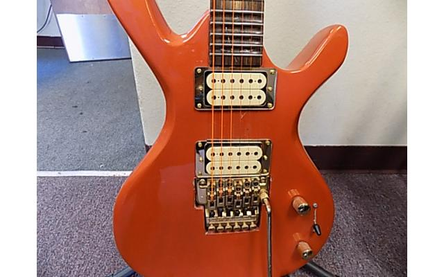 Lot#116 Custom Made Daniele guitar Orange with Licsc. Floyd Rosa - 4/8
