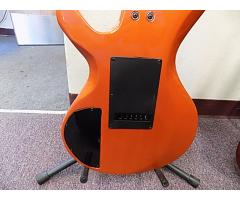 Lot#116 Custom Made Daniele guitar Orange with Licsc. Floyd Rosa - Image 5/8