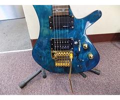 Lot #118 Daniele Blue Foyd Guitar Ken Armstrong and sustainer Pick up - Image 3/9