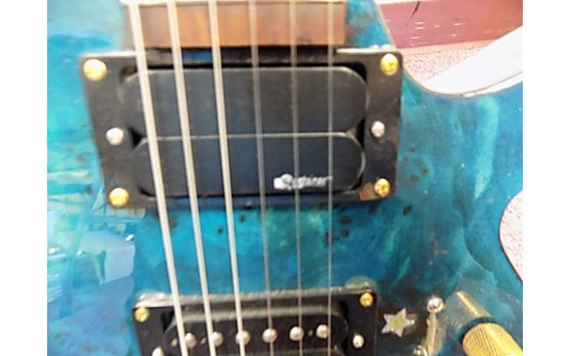 Lot #118 Daniele Blue Foyd Guitar Ken Armstrong and sustainer Pick up - 6/9
