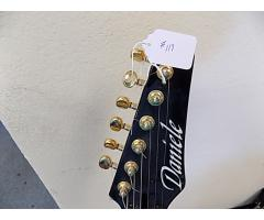 Lot#119 Daniele Guitar with Kent Armstrong and Wilburn Custom pick ups - Image 1/9