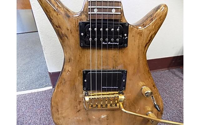 Lot#119 Daniele Guitar with Kent Armstrong and Wilburn Custom pick ups - 3/9