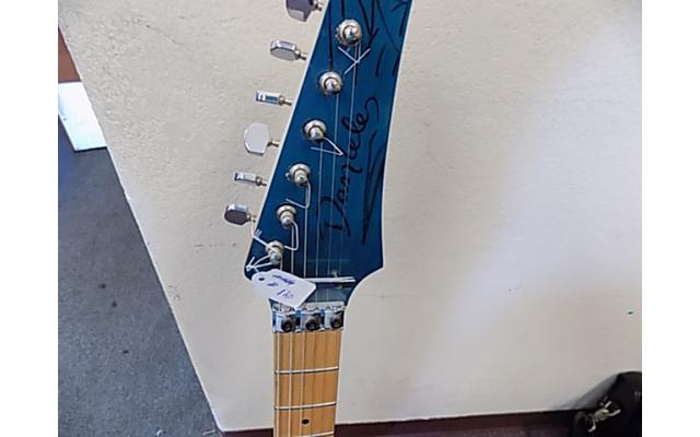 Lot# 120 Daniele guitar (damaged)w/ Floyd rose and mighty mite pick ups - 2/10