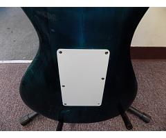 Lot# 120 Daniele guitar (damaged)w/ Floyd rose and mighty mite pick ups - Image 8/10