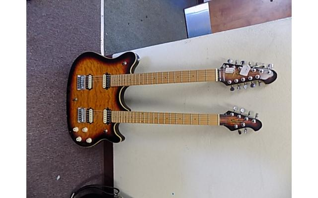 OLP Double Neck guitar 6/12 String Lot#123 - 1/8