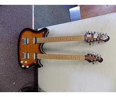 OLP Double Neck guitar 6/12 String Lot#123 - Image 1/8