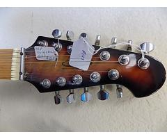 OLP Double Neck guitar 6/12 String Lot#123 - Image 3/8
