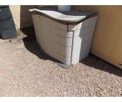 Lot #123 Outdoor Storage Shed (Contents Not Included)