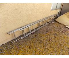 Lot #125 Small Extension Ladder