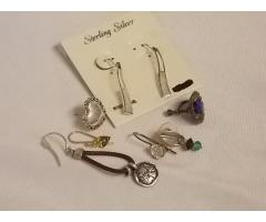Lot #4 Earrings lot some missing mates - Image 1/2