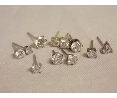 Lot #29 earring lot either marked silver or appears to be silver missing mates