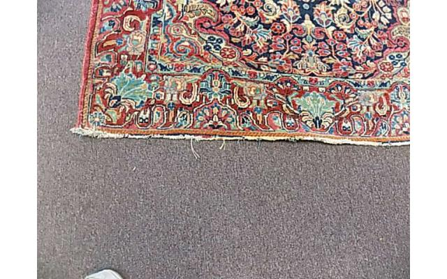 """Hand woven rug approx. 4' x 6"""" - 3/6"""