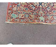 """Hand woven rug approx. 4' x 6"""" - Image 3/6"""