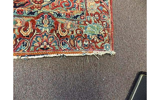 """Hand woven rug approx. 4' x 6"""" - 4/6"""