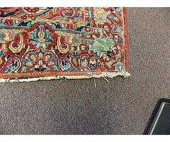 """Hand woven rug approx. 4' x 6"""" - Image 4/6"""