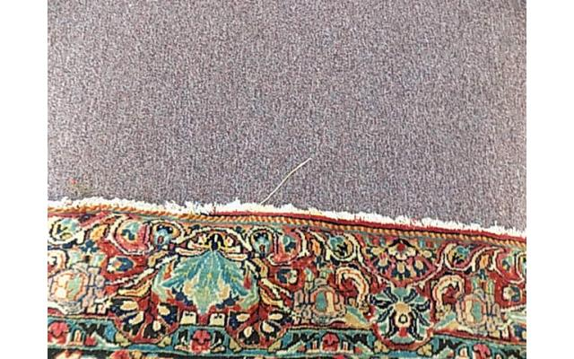 """Hand woven rug approx. 4' x 6"""" - 5/6"""