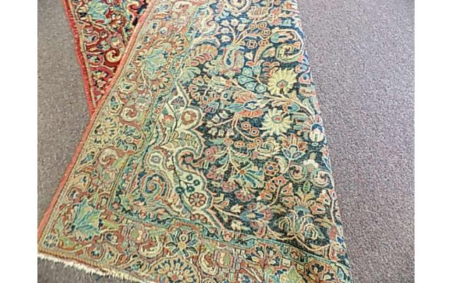 """Hand woven rug approx. 4' x 6"""" - 6/6"""