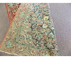 """Hand woven rug approx. 4' x 6"""" - Image 6/6"""