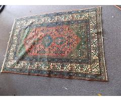 Hand Woven Rug approx. 3' x 5'