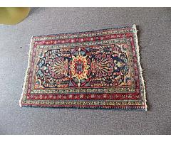 Hand Woven Rug approx. 2.5' x 3.5'