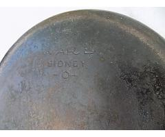 Relist: Sidney Cast Iron #10 Skillet and a #5 cast iron Skillet