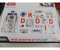 Star Wars Droid inventor Kit open box