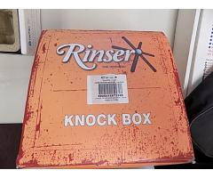 Rinser Knock Box pitcher rinser untested